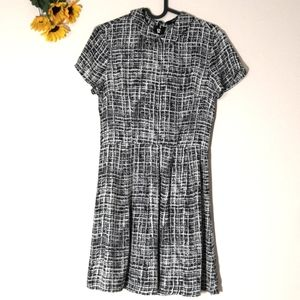 Forever 21 collared patterned dress